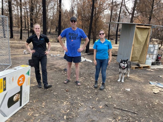RSPCA NSW On The Ground Bushfire Assistance